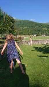 Cricket in the garden