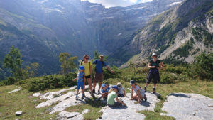 Family hike, Gavarnie
