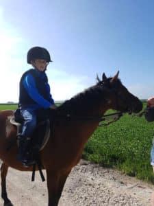 equitation et anglais
