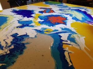 Activities - Acrylic Pouring 1