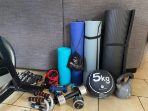 House - cardio and work out accessories