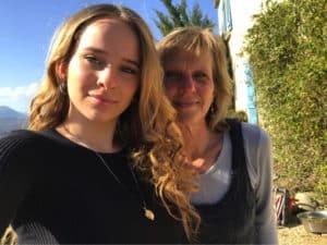 Nika and me
