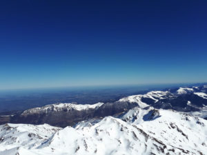 View from the Pic du Midi