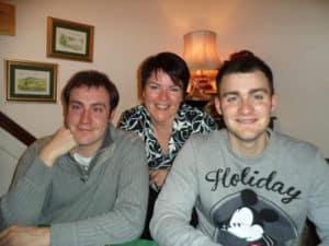 Yvone & 2 sons