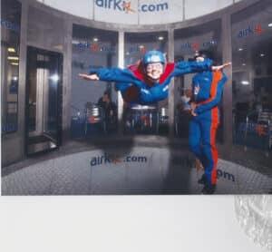 Ali Skydiving