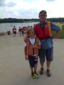 Steve and jan sailing
